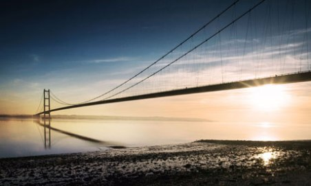 Humber Bridge image from The Guardian