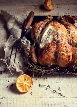 rustic roast chicken
