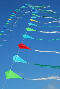 String of Kites by Rob Huntley